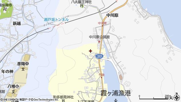 大分県佐伯市霞ケ浦798周辺の地図