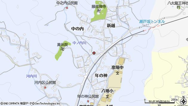 大分県佐伯市戸穴1658周辺の地図