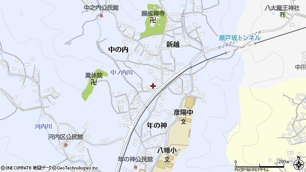 大分県佐伯市戸穴1659周辺の地図
