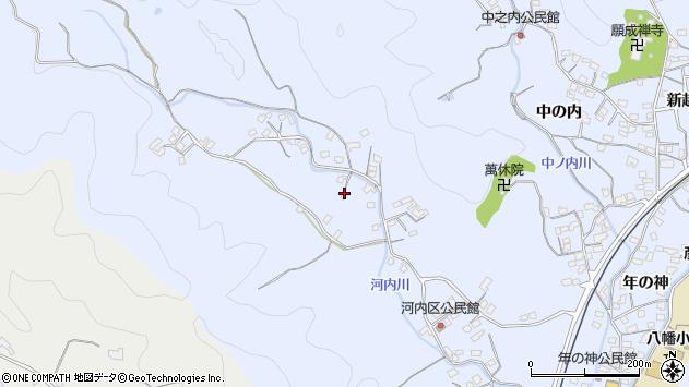 大分県佐伯市戸穴916周辺の地図