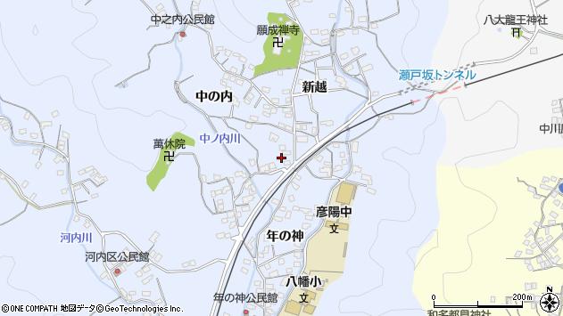 大分県佐伯市戸穴1660周辺の地図
