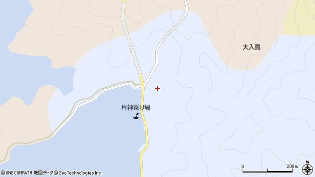 大分県佐伯市片神浦374周辺の地図