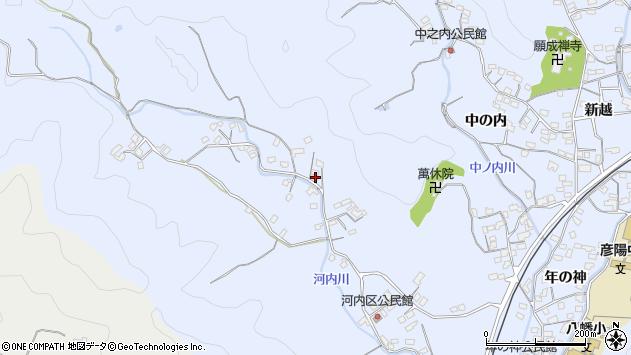 大分県佐伯市戸穴1279周辺の地図