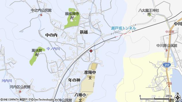 大分県佐伯市戸穴1600周辺の地図