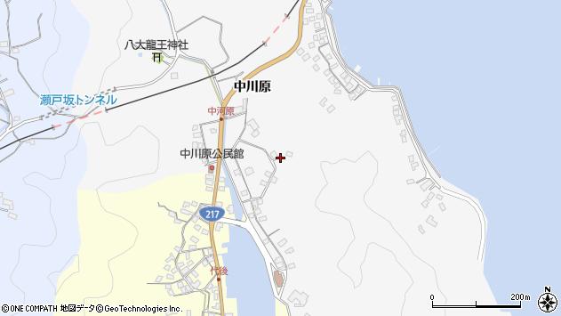 大分県佐伯市狩生3048周辺の地図
