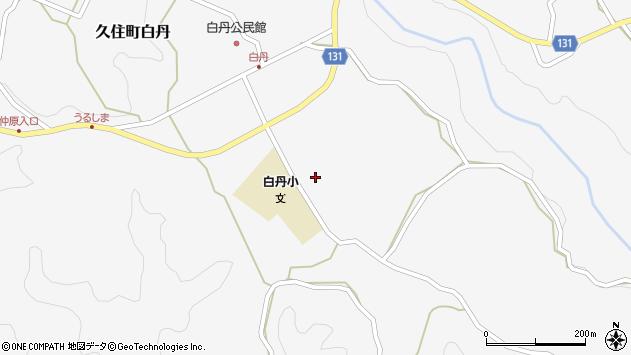大分県竹田市久住町大字白丹4677周辺の地図