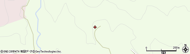 大分県竹田市中661周辺の地図