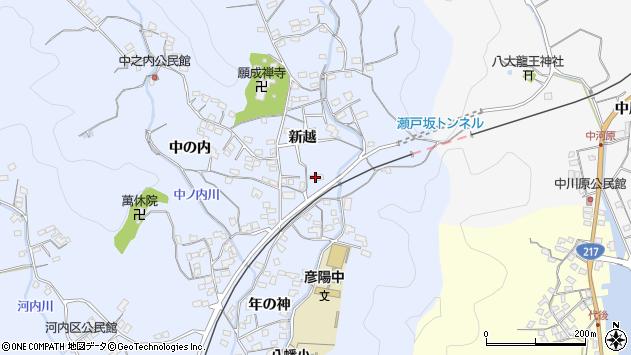 大分県佐伯市戸穴1611周辺の地図