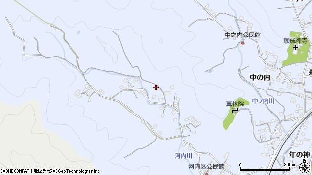 大分県佐伯市戸穴1260周辺の地図