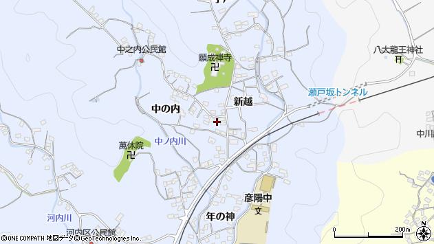 大分県佐伯市戸穴1699周辺の地図