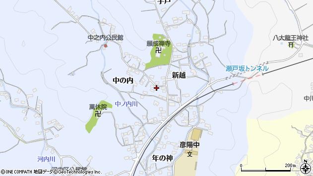 大分県佐伯市戸穴1700周辺の地図