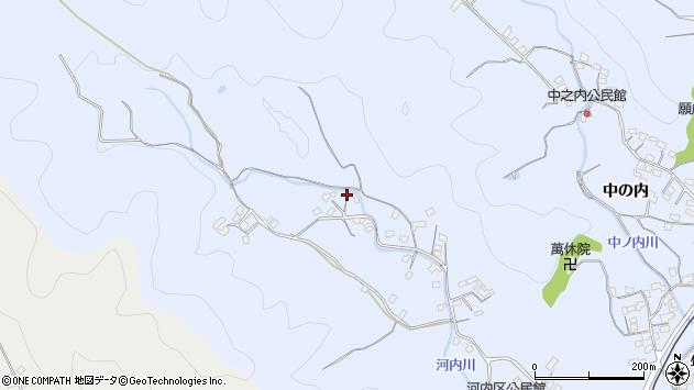 大分県佐伯市戸穴1036周辺の地図