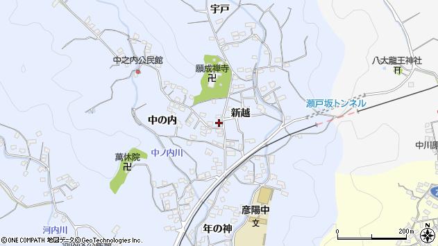 大分県佐伯市戸穴1703周辺の地図