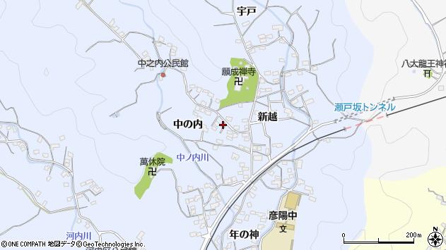 大分県佐伯市戸穴1709周辺の地図