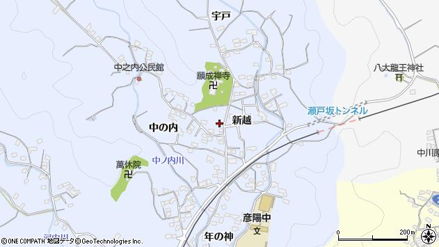 大分県佐伯市戸穴1702周辺の地図