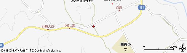 大分県竹田市久住町大字白丹4744周辺の地図