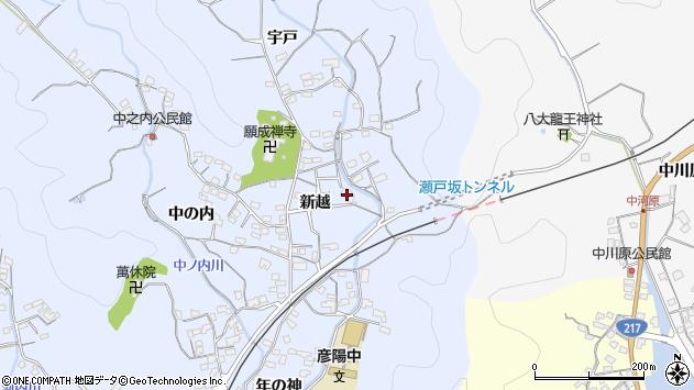 大分県佐伯市戸穴2061周辺の地図