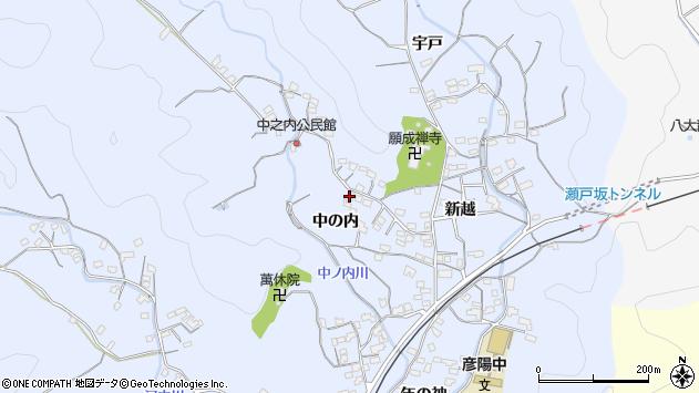 大分県佐伯市戸穴1715周辺の地図