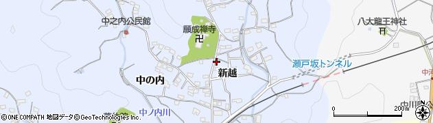 大分県佐伯市戸穴1615周辺の地図