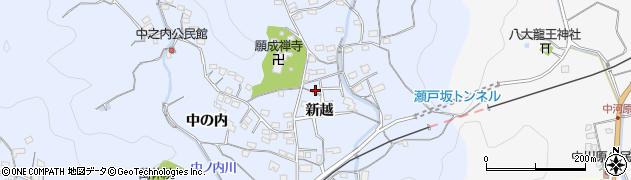 大分県佐伯市戸穴2058周辺の地図