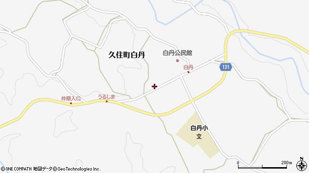 大分県竹田市久住町大字白丹4743周辺の地図