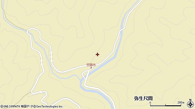 大分県佐伯市弥生大字尺間2079周辺の地図