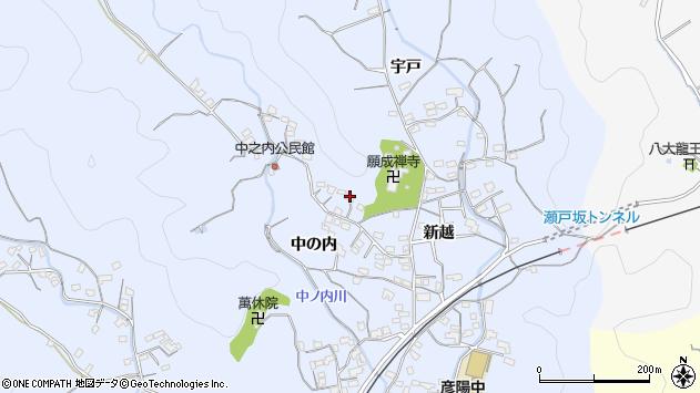 大分県佐伯市戸穴2031周辺の地図