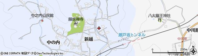 大分県佐伯市戸穴2838周辺の地図