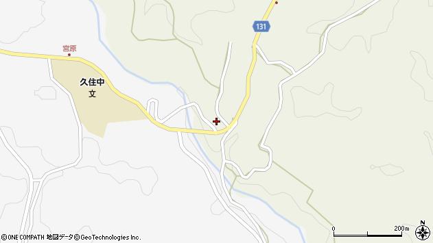 大分県竹田市久住町大字久住4725周辺の地図