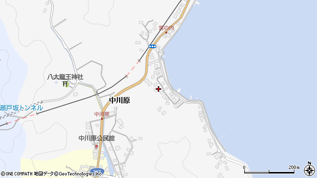 大分県佐伯市護江440周辺の地図