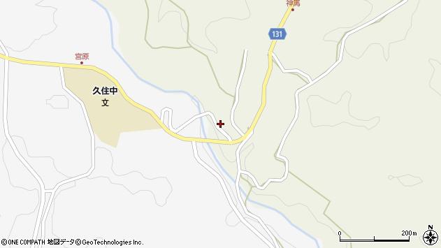 大分県竹田市久住町大字久住4721周辺の地図