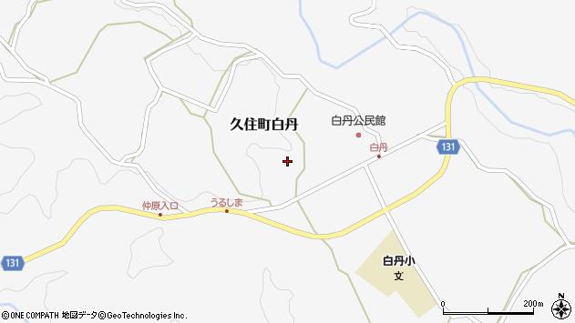 大分県竹田市久住町大字白丹4748周辺の地図