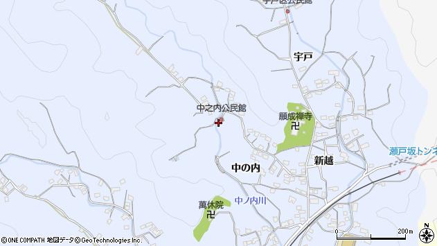 大分県佐伯市戸穴2010周辺の地図