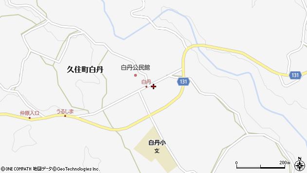 大分県竹田市久住町大字白丹4480周辺の地図