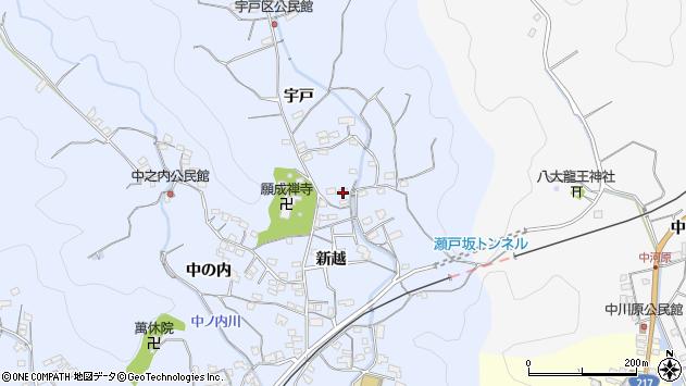 大分県佐伯市戸穴2069周辺の地図