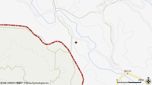 大分県竹田市久住町大字白丹8049周辺の地図
