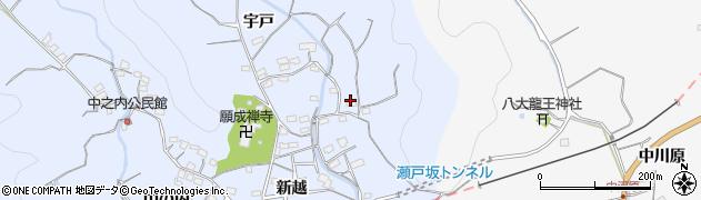 大分県佐伯市戸穴2798周辺の地図