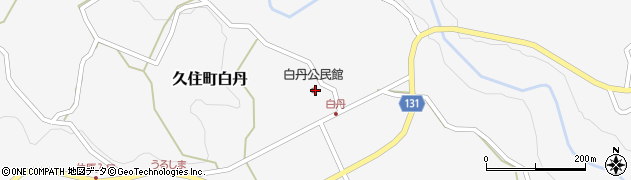 大分県竹田市久住町大字白丹4728周辺の地図