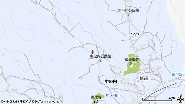 大分県佐伯市戸穴1697周辺の地図