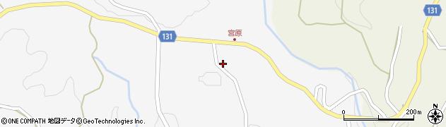 大分県竹田市久住町大字白丹2007周辺の地図