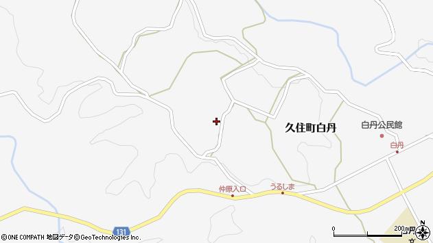 大分県竹田市久住町大字白丹4452周辺の地図
