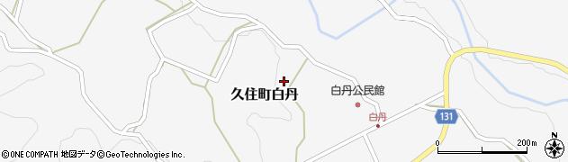 大分県竹田市久住町大字白丹4755周辺の地図