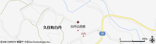 大分県竹田市久住町大字白丹4470周辺の地図