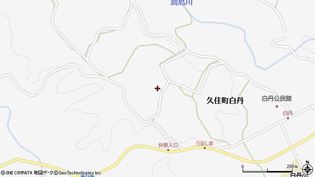 大分県竹田市久住町大字白丹4453周辺の地図