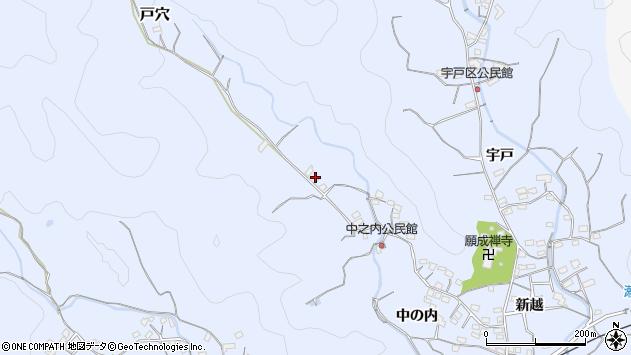 大分県佐伯市戸穴1995周辺の地図