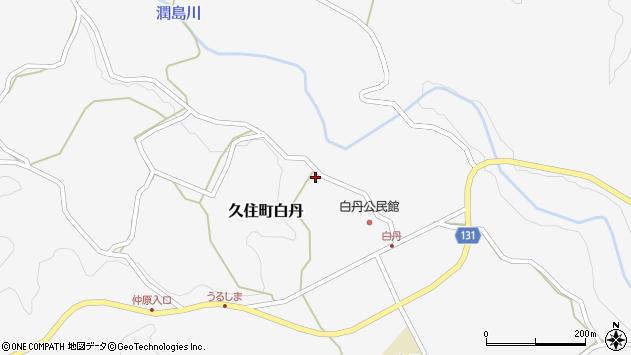 大分県竹田市久住町大字白丹4732周辺の地図