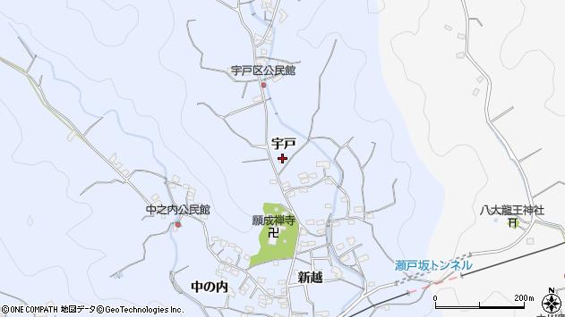 大分県佐伯市戸穴2113周辺の地図