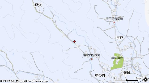 大分県佐伯市戸穴1993周辺の地図