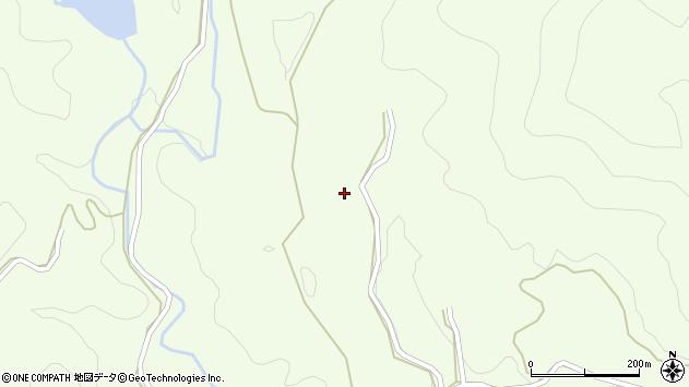 大分県竹田市植木5741周辺の地図
