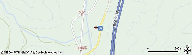 大分県佐伯市弥生大字床木1655周辺の地図